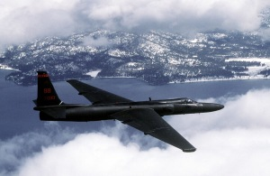 The TR-1, a renamed U-2 reconnaissance plane, was the aerial platform for the PLSS system. (U.S. Air Force Photo by Master Sgt. Rose Reynolds)