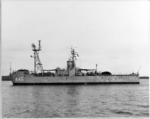 USS Catapult, circa 1955. NH 55065 (NHHC photo).