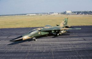 General Dynamics F-111F at the National Museum of the United States Air Force. (U.S. Air Force photo)